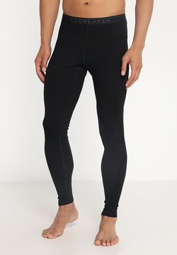 Icebreaker - TECH LEGGINGS - Unterhose lang - black/monsoon