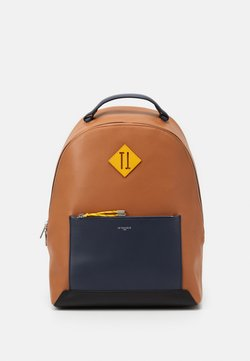 Le Tanneur - NATHAN ZIPPED BACKPACK - Reppu - tan/crepuscule/arnica