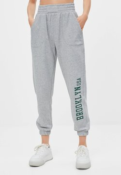 Bershka - Jogginghose - light grey