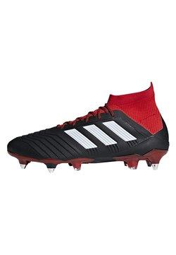 adidas Performance - Predator 18.1 Soft Ground Boots - Botas de fútbol - black