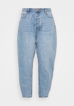 Missguided Plus - PLUS CLEAN  - Straight leg -farkut - blue