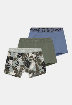 Björn Borg - JUNGLE SAMMY 3 PACK - Panties - puritan gray