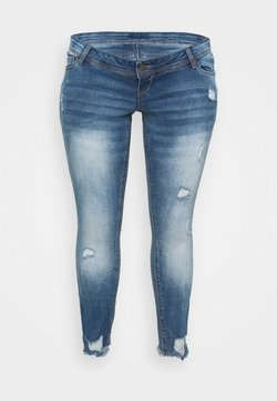 Mamalicious Curve - MLTARAGONA - Jeans Skinny Fit - medium blue