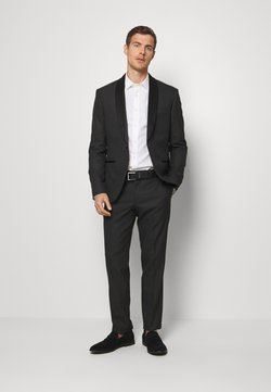 Isaac Dewhirst - RECYCLED TUX SLIM FIT - Anzug - black