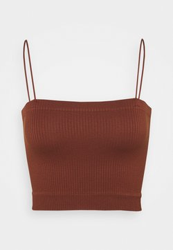 BDG Urban Outfitters - BUNGEE STRAP TUBE - Top - mink brown