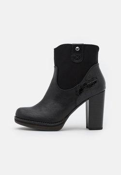 s.Oliver - High Heel Stiefelette - black