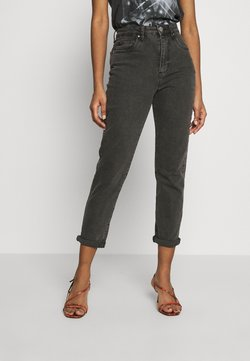 Cotton On - STRETCH MOM - Relaxed fit jeans - superwash black