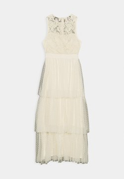 YAS - YASBIRINDA MAXI DRESS CELEB - Robe de cocktail - pearled ivory