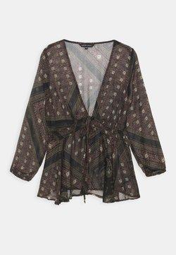 CAPSULE by Simply Be - SCARF PRINT - Bluse - black
