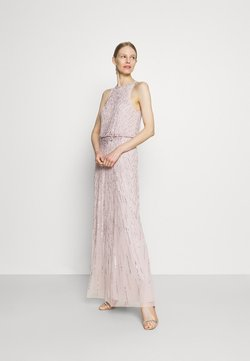 Adrianna Papell - BEADED BLOUSON GOWN - Occasion wear - marble