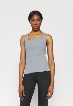 Nike Performance - THE YOGA LUXE TANK - Top - particle grey