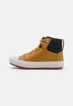 Converse - CHUCK TAYLOR ALL STAR BERKSHIRE UNISEX - Zapatillas altas - wheat/black/pale putty