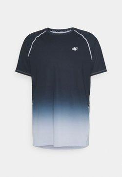 4F - HERREN FEDJA - Camiseta estampada - black