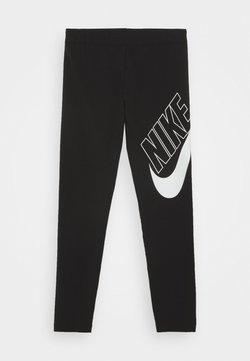Nike Sportswear - FAVORITES - Leggings - Hosen - black/white