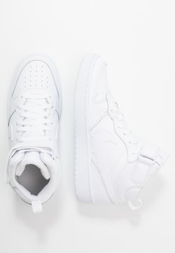 Nike Sportswear - COURT BOROUGH MID UNISEX - Zapatillas altas - white