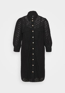 Vero Moda Tall - VMHENNY DRESS  - Robe chemise - black