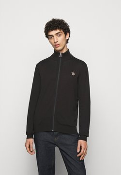 PS Paul Smith - MENS ZIP ZEBRA - Strickjacke - black
