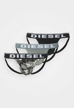 Diesel - UMBR-JOCKYTHREEPACKJOCKSTRAP 3PACK - Slip - grey/black
