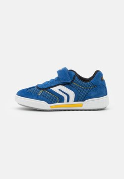Geox - POSEIDO BOY - Sneaker low - royal/yellow
