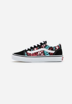 Vans - OLD SKOOL EXCLUSIVE - Sneaker low - black/multicolor/true white
