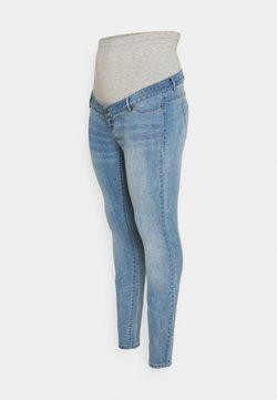 Mamalicious Curve - MLJULIA - Jeans slim fit - light blue denim