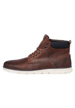 Jack & Jones - Schnürstiefelette - brandy brown