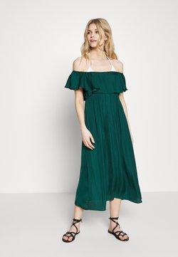 Women Secret - SHORT SLEEVES MEDIUM DRESS - Accessoire de plage - pine green
