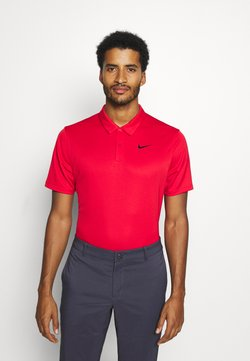 Nike Golf - DRY ESSENTIAL SOLID - Funktionsshirt - university red/black