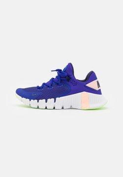 Nike Performance - FREE METCON 4 - Chaussures d'entraînement et de fitness - concord/blackened blue/crimson tint/lime glow/white