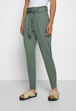 Vero Moda - LOOSE PAPERBAG  - Jogginghose - laurel wreath