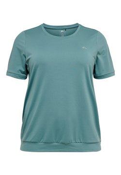 ONLY Play - LOCKERE CURVY - T-shirt basic - goblin blue