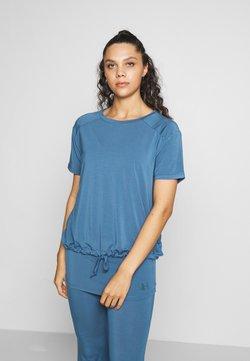 Curare Yogawear - DRAWSTRING WIDE  - Toppi - horizon blue