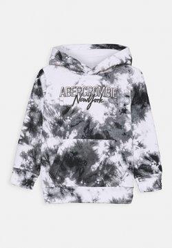 Abercrombie & Fitch - POLAR HOODED  - Collegepaita - white