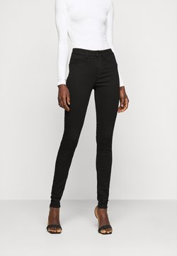 PIECES Tall - PCSHAPE SAGE  - Jeans Skinny Fit - black