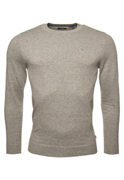 Superdry - ORANGE LABEL CREW - Jumper - jersey grey marl
