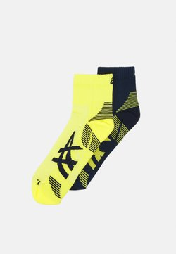 ASICS - CUSHIONING SOCK 2 PACK  - Sportsocken - peacoat/sour yuzu