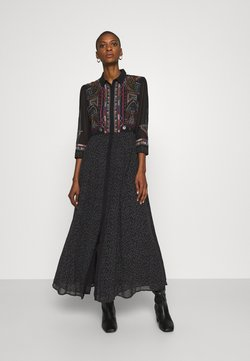 Desigual - VEST WUHAN - Shirt dress - black