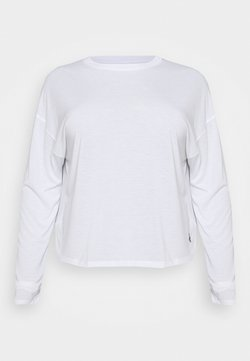 Reebok - LONG SLEEVE - Langarmshirt - white
