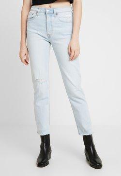 Levi's® - 501® CROP - Straight leg -farkut - light-blue denim