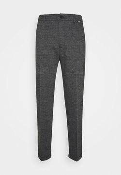 Calvin Klein - COMFORT CHECK PANT - Stoffhose - grey