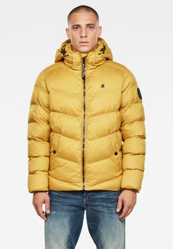G-Star - WHISTLER HOODED PUFFER - Winterjacke - yellow