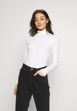 Weekday - VERENA TURTLENECK - Langærmede T-shirts - white