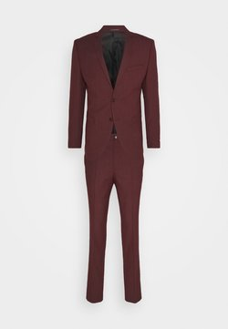 Jack & Jones PREMIUM - JPRSOLARIS SUIT SKINNY FIT SET - Anzug - hot chocolate