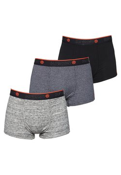 Superdry - 3 PACK - Shorty - black/grey