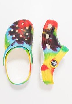 Crocs - CLASSIC TIE DYE GRAPHIC - Badslippers - multicolor