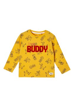s.Oliver - Longsleeve - yellow aop