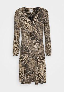 ICHI - IHVERA - Korte jurk - oxford tan