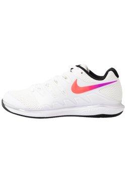 Nike Performance - NIKECOURT AIR ZOOM VAPOR X - Multicourt Tennisschuh - summit white/white/black/electro green