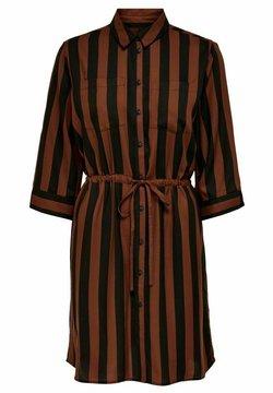 ONLY - ONLTAMARI DRESS - Blusenkleid - cherry mahogany
