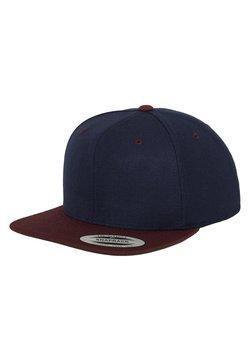 Flexfit - CLASSIC SNAPBACK 2-TONE - Cap - blue/bordeaux